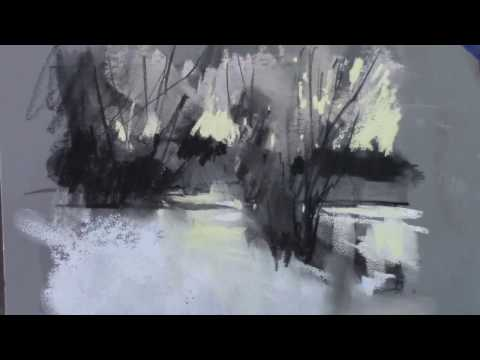 Pastel Painting - Miniatures Lesson Tidbit