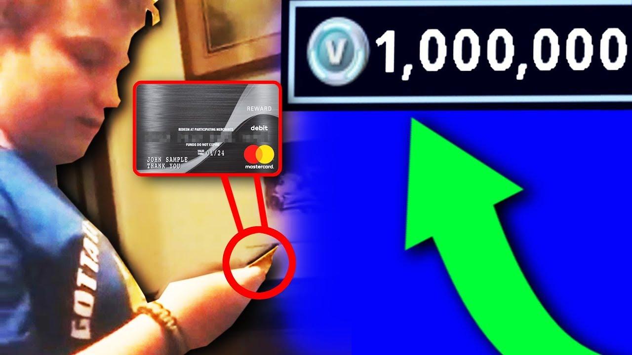 Kid Uses Mom S Credit Card To Buy V Bucks Fortnite Youtube