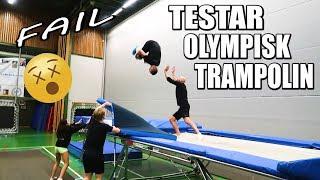 Testar Olympisk Trampolin