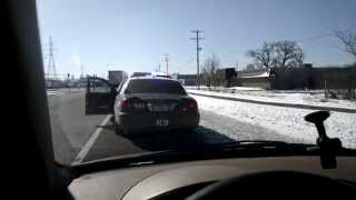 "Civilian pulls over K-9 Police Officer for speeding | Excuse? ""I"
