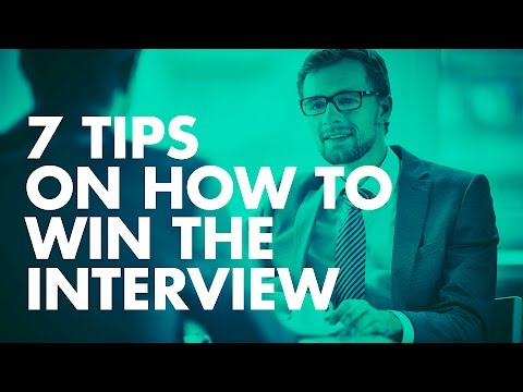 Win The Interview— JOB INTERVIEW TIPS