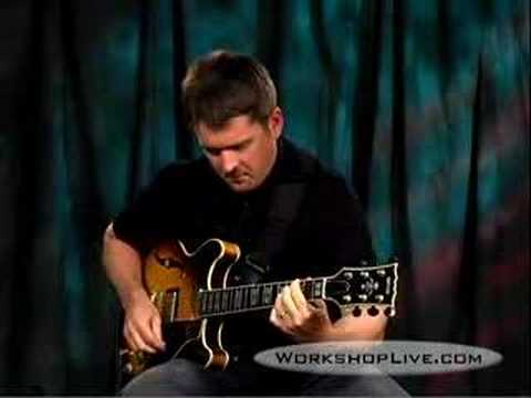 Tom Dempsey lays down some Jazzy licks