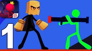 STICK FIGHT: THE GAME MOBILE - Walkthrough Gameplay Part 1 - (Stickman Android Game)