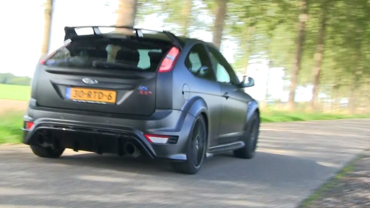 Ford Focus RS500 | Really FAST driving! - YouTube