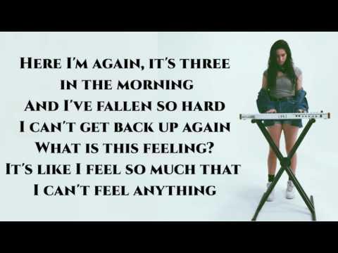 Lauren Cimorelli - Never Let Me Fall (Demo+Lyrics)