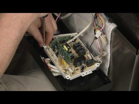Main Control Board - Whirlpool Dishwasher Repair #WDF550SAFS