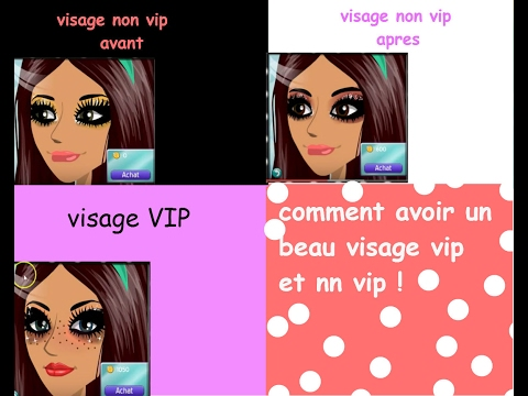 comment avoir un beau visage vip et un visage non vip msp youtube. Black Bedroom Furniture Sets. Home Design Ideas