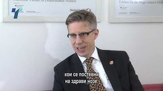 Интервју со Патрик Мартенс, прв човек на делегацијата на германското стопанство во Македонија