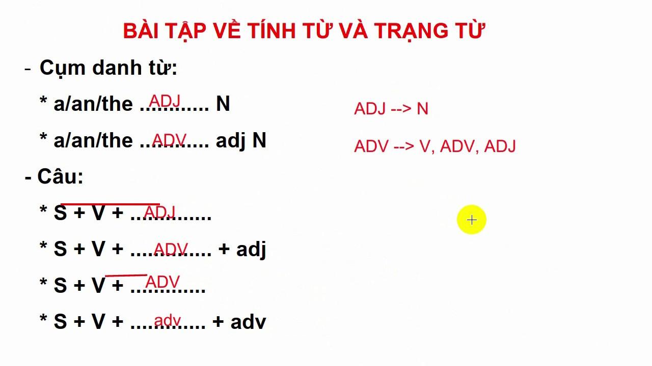 TOEIC – Phân biệt Trạng từ(adverb) và Tính từ(adjective) bài tập