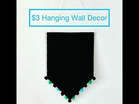 DOLLAR TREE WALL DECOR MADE OUT OF A PLACEMAT!