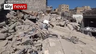Many killed in airstrike in rebel-held Syrian town