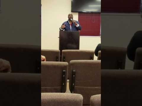 David White Part 1, Refiner's Fire at the Woman's Worth conference, Tampa, FL
