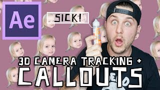 How To Track Objects And Make Callouts In After Effects