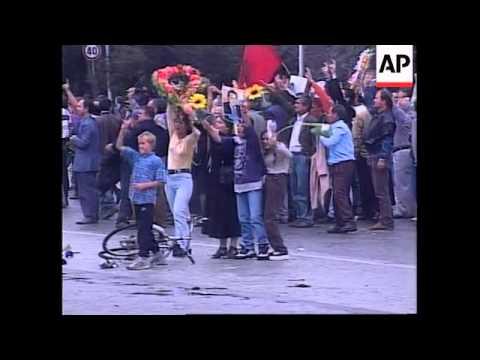 1997年アルバニア暴動!ねずみ講...