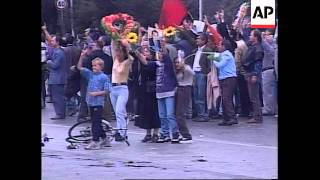 Albania: Violent Protests Continue On Streets Of Tirana - 1998