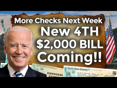 NEW 4TH BILL COMING!! 4TH STIMULUS CHECK UPDATE $2,000 Monthly Fourth Stimulus Package SSI SSDI