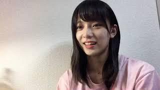 프로듀스48에 출연하는 고토 모에(後藤 萌咲)의 2018년 8월 16일자 쇼룸입니다.