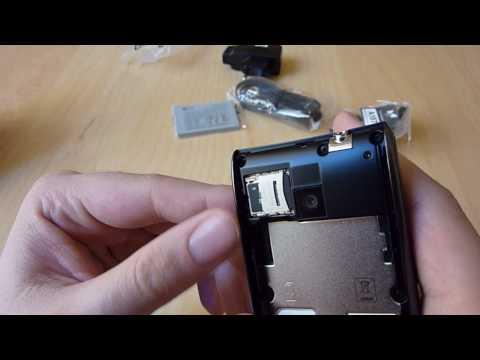 Unboxing LG GT540 Optimus Smartphone