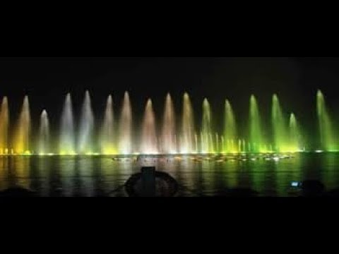 Light and Water jet show @ west lake hangzhou