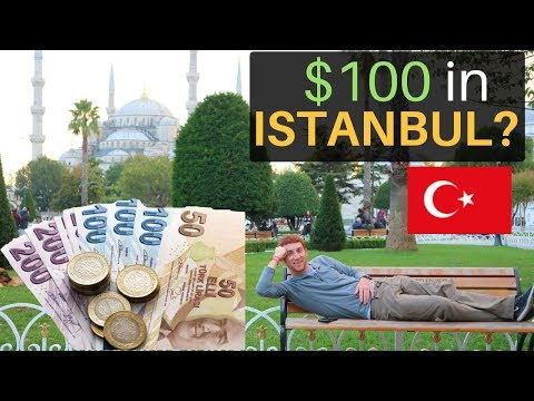 $100 in ISTANBUL in 24 Hours? What Can You Get?!