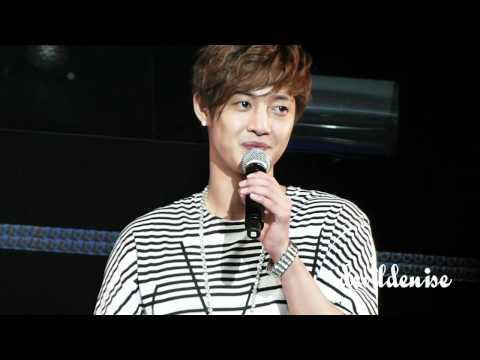 Kim Hyun Joong Singapore FM (4 May 12) - Marry You/Marry Me + Game