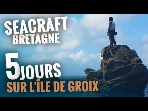 Seacraft sur l'île de Groix - 5 jours de bushcraft en Bretagne !