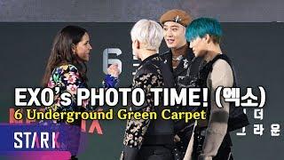 Download lagu EXO's PHOTO TIME, '6 Underground' Green Carpet (엑소 포토타임도 놓치지 마 엑소엘 파이팅)
