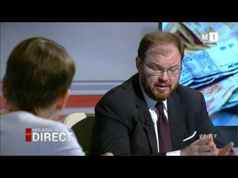 Moldova în direct I Despre raportul Kroll 2 cu guvernatorul BNM Sergiu Cioclea