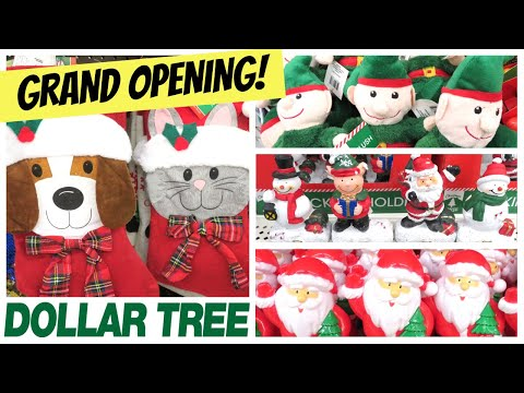 NEW DOLLAR TREE GRAND OPENING COME WITH ME | DECEMBER 2019