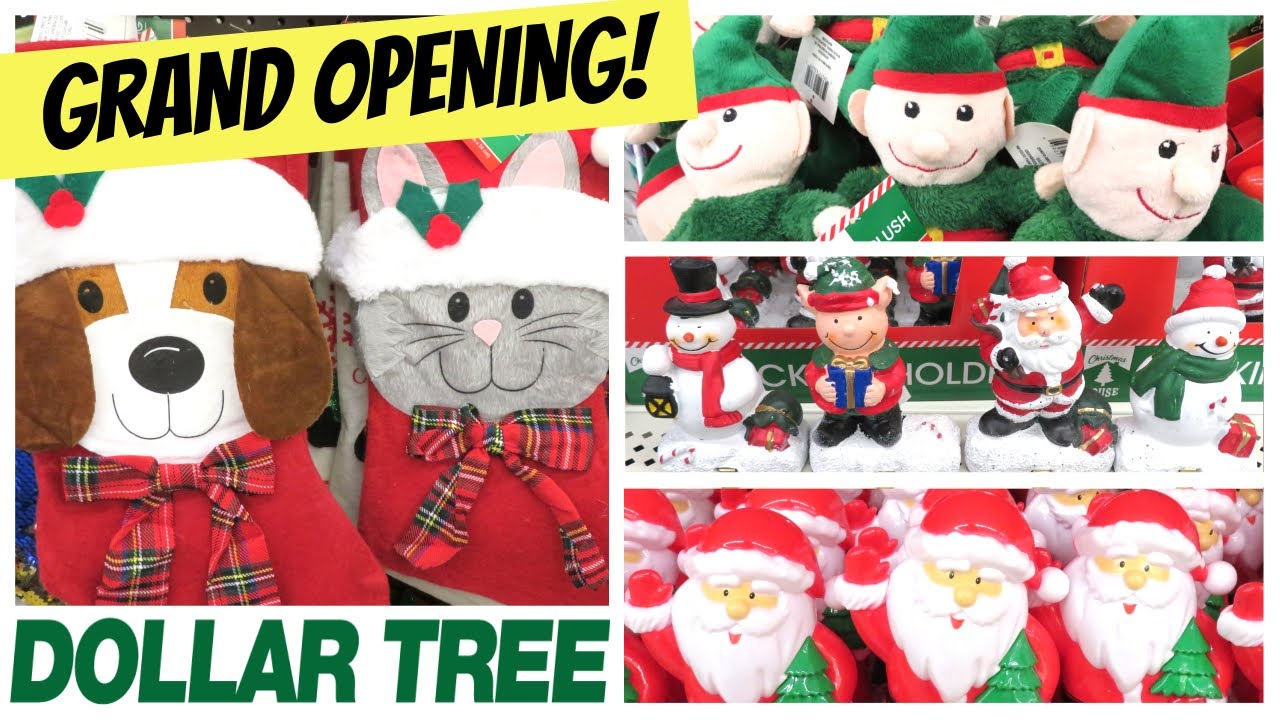 Is Dollar Tree Open On Christmas Eve 2021 New Dollar Tree Grand Opening Come With Me December 2019 Youtube