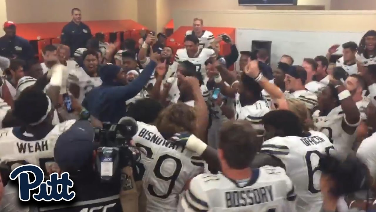 Clemson Locker Room Celebration