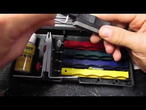 Точилки для ножей lansky камни, алмазные бруски, станки и наборы лански для заточки ножей в интернет магазине ножиков в москве и.