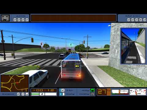 Bus Driver #6 Bus 83 - Sunshine Suburb 🎮 James Games |