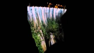 Video Projection on Hoover Dam