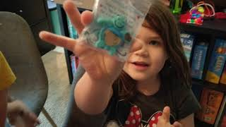 "Daisy Girl Scout ""Unboxing"" Her Cookie Prizes (300+ boxes!)"