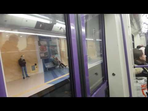 Метро София Дружба- Сердика с Русич 81-740 | Sofia Metro Drujba- Serdika Part1