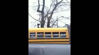 Boston school bus shenanigans