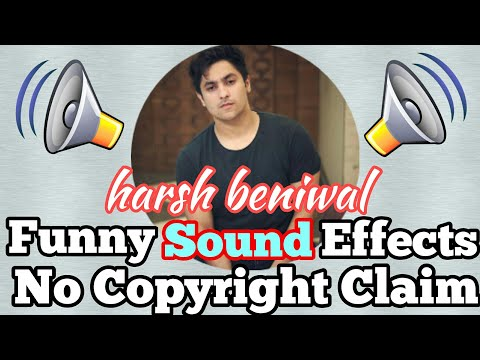funny sound effects used by Famous Youtubers | Bb ki vines, ashish chanchlani, amit bhadana
