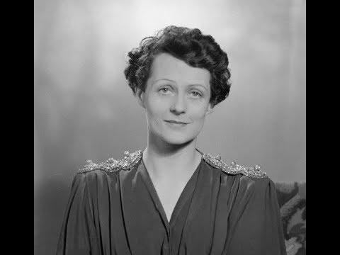 "Irène Joachim sings ""Chanson de Ronsard"""