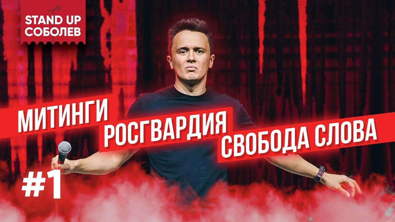 Илья Соболев Время Поразмышлять #1 - Митинги, Росгвардия, Свобода Слова