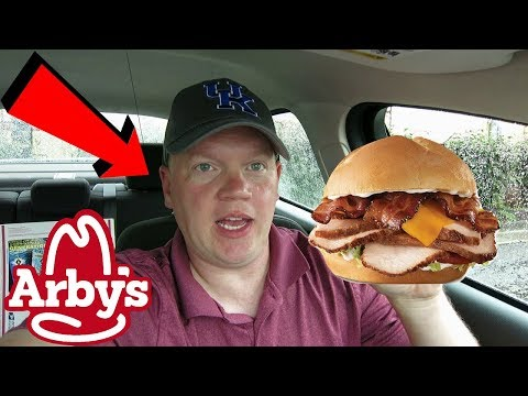 Reed Reviews Arby's Deep Fried Turkey Club Sandwich