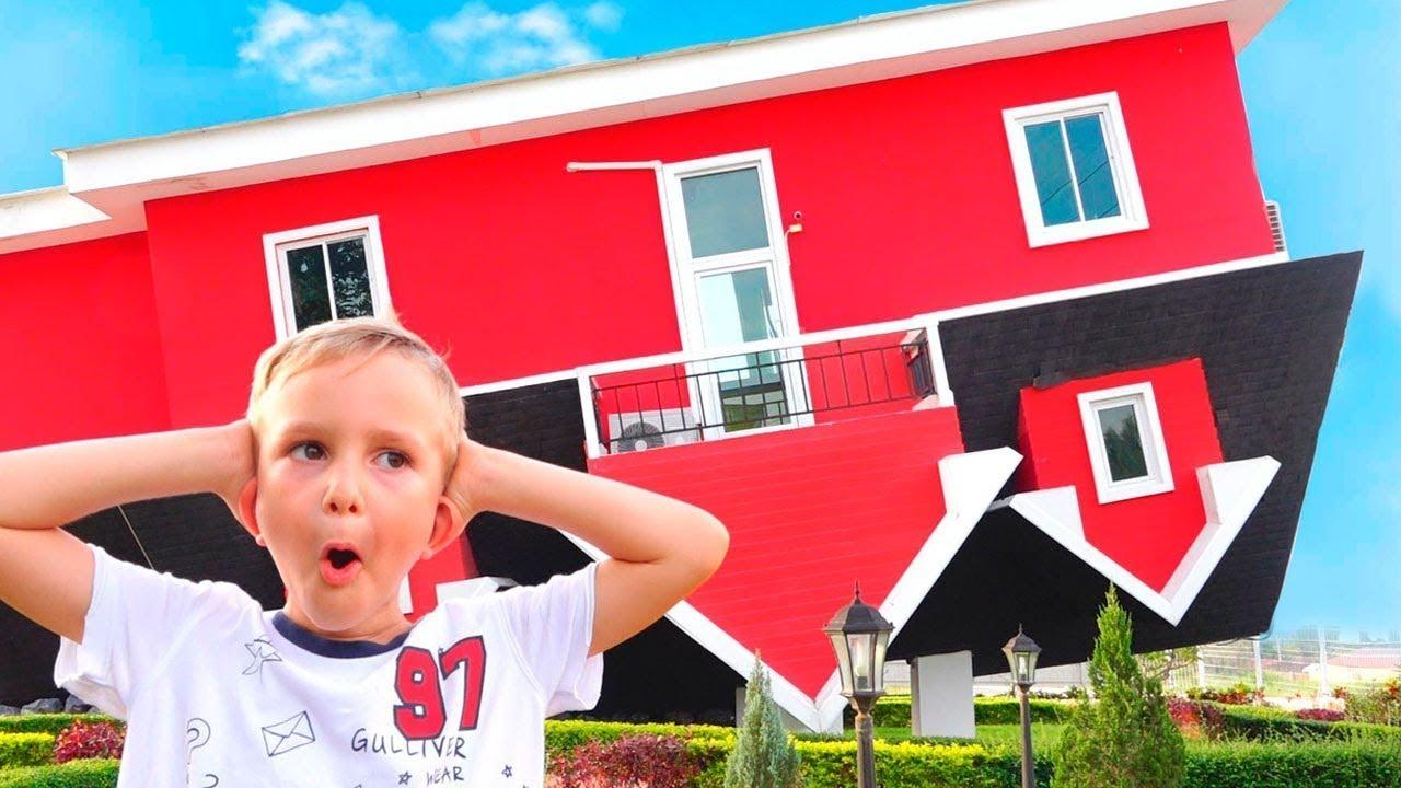 Vlad Dan Nikita Playhouse Baru Untuk Anak Anak Youtube