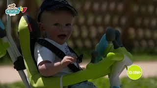 Tricikel s potiskom Baby Driver Comfort Blue Smoby