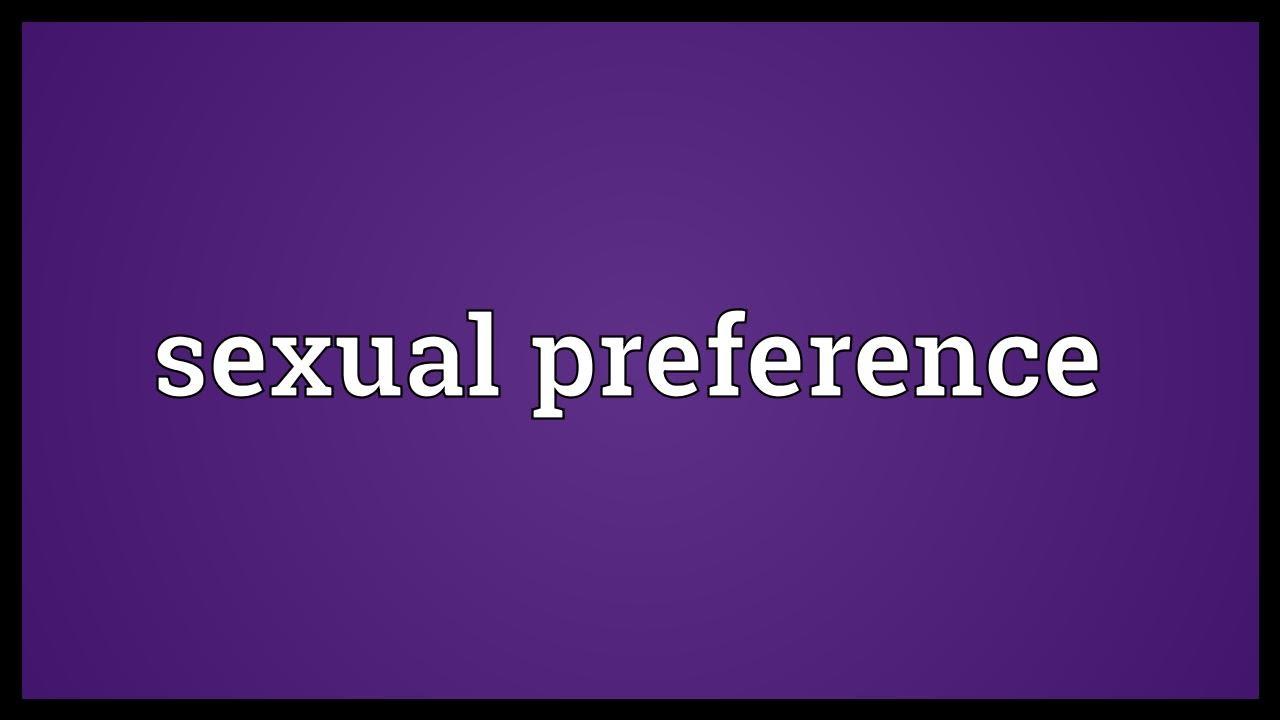 Define sexual orientation definition psychology