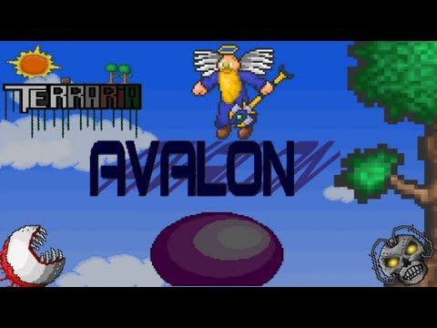 Terraria Avalon Mod Pack Episode 10(Defeating The Destroyer)