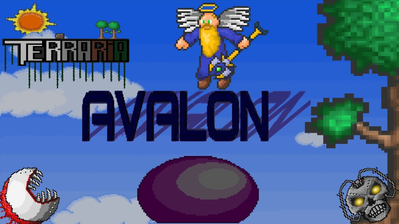 Avalon Mod v12 для Terraria 1.3