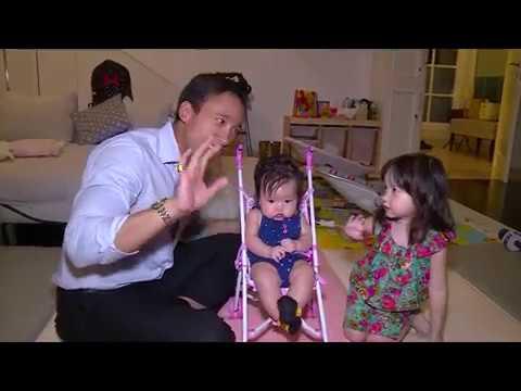 MARULI TAMPUBOLON MAIN DENGAN ANAK HILANGKAN PENAT| Selebrita Siang
