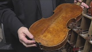Violin dealer reacts to theft of Stradivarius