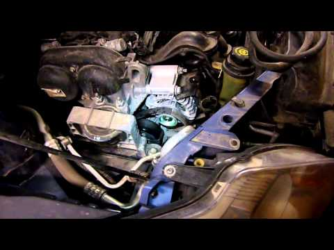 Снятие генератора на форд фокус 2 1 6 своими руками