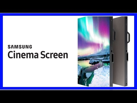 Breaking News | Samsung's giant, 34-foot Onyx screens are 4K monitors for movie theaters